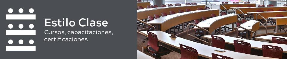 Conferencia o Curso (Mesa tipo Clase)